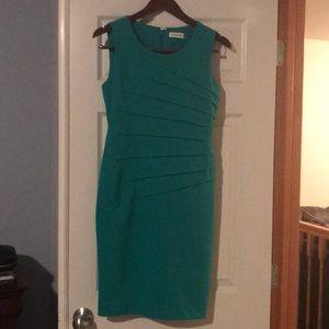 Green Calvin Klein dress